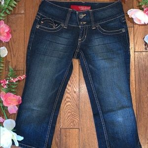 Guess Jeans Cropped Capri Size 27